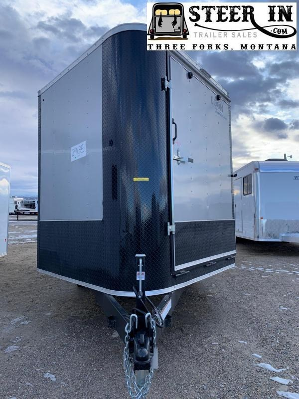 2020 Look Puresport 21' Enclosed Snowmobile Trailer