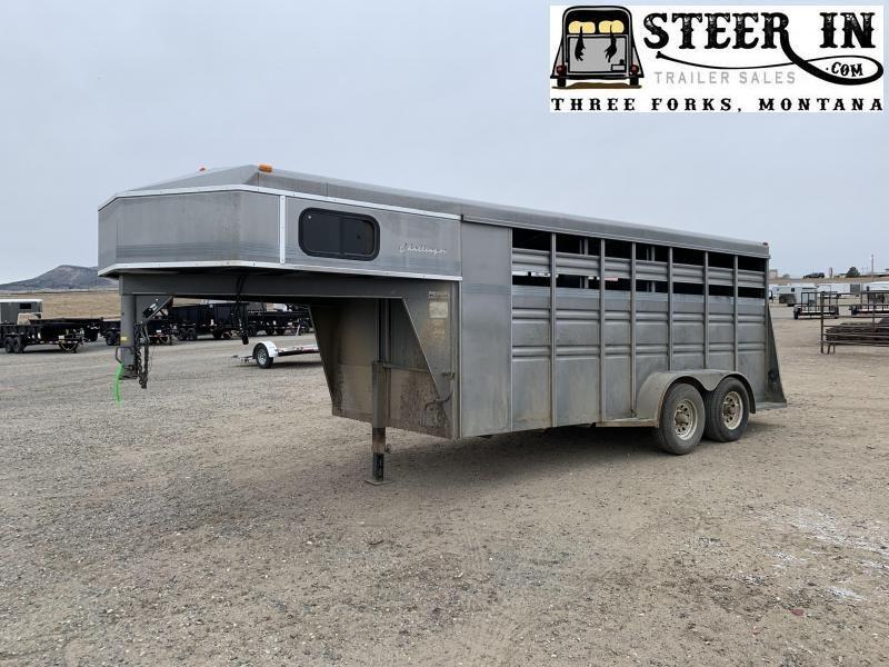 1996 Titan 16' Stock/Combo Livestock Trailer