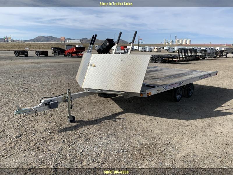 2006 Newman 16' Tandem Snowmobile Trailer