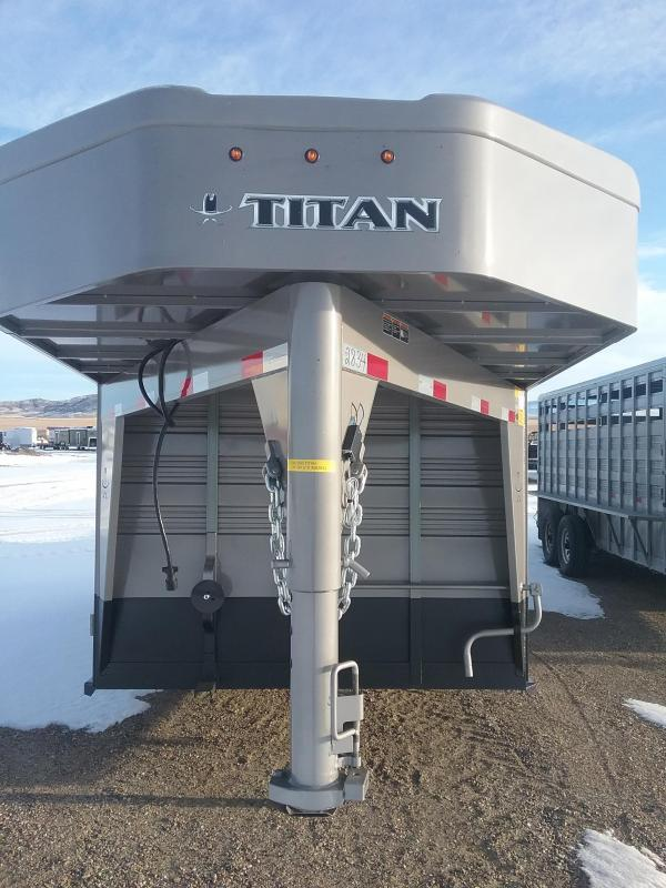 2020 Titan 16' Standard Stock Trailer