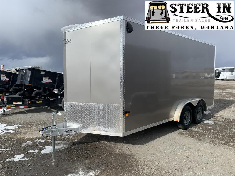 2020 EZ Hauler  7.5x16'  Enclosed Cargo Trailer