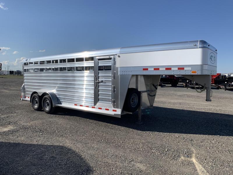 2020 4-Star 20' Livestock Trailer