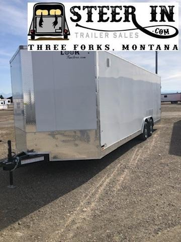 2020 Look 8.5X24' Enclosed Cargo Trailer