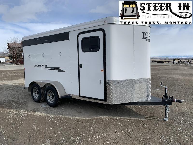 2020 Logan Coach Cross Fire 3-Horse BP Horse Trailer