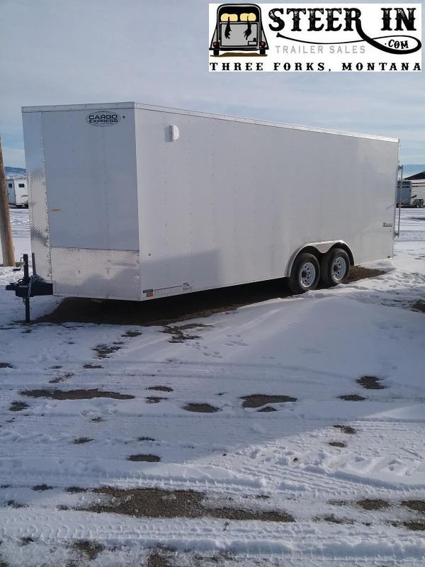 2020 Cargo Express 85X20' Enclosed Cargo Trailer
