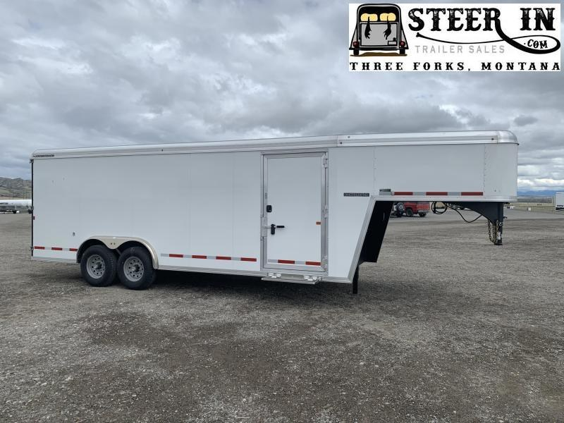 2020 Logan 20' GN Enclosed Cargo Trailer