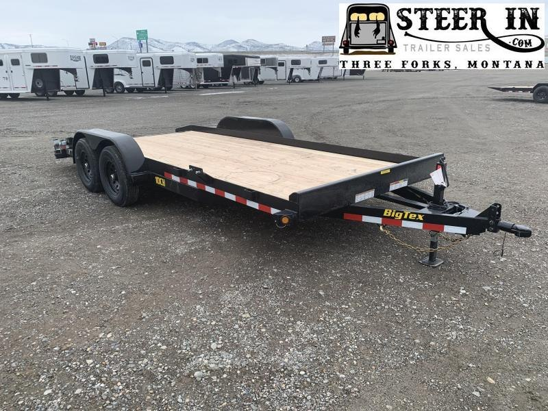 2020 Big Tex 10CH 18'  Car / Racing Trailer