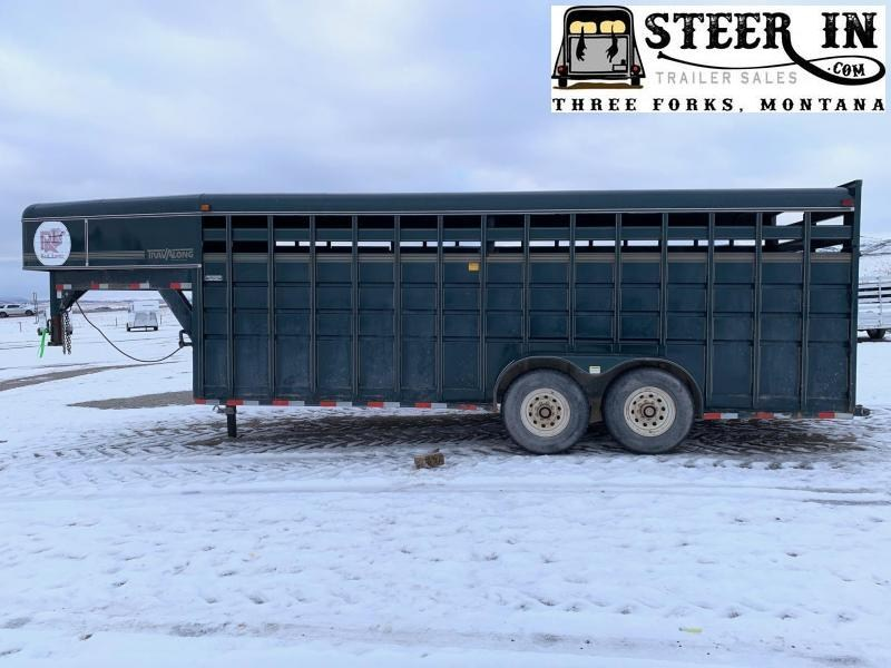 1995 Travalong 20'  Livestock Trailer