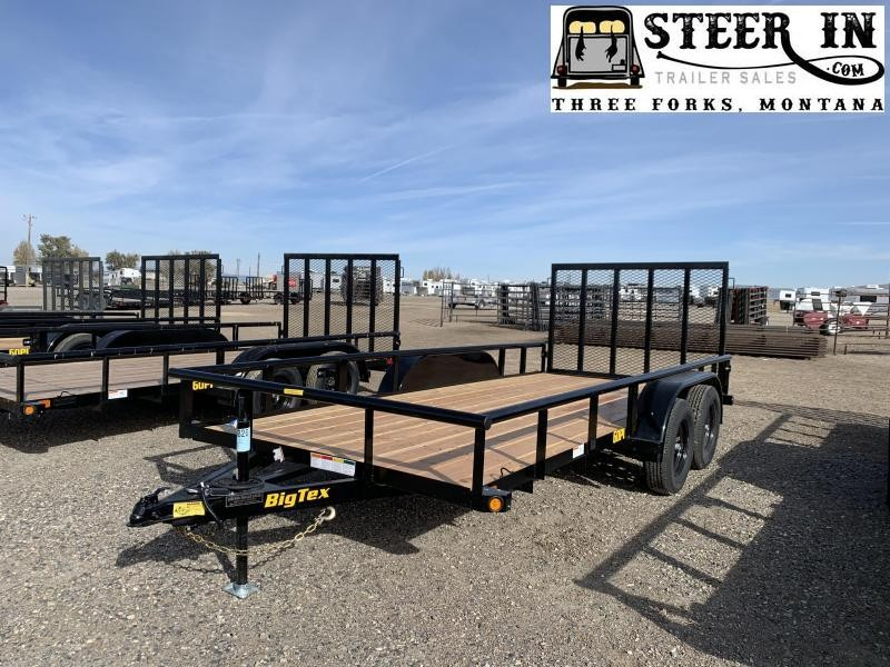 2020 Big Tex 60PI-16' Utility Trailer