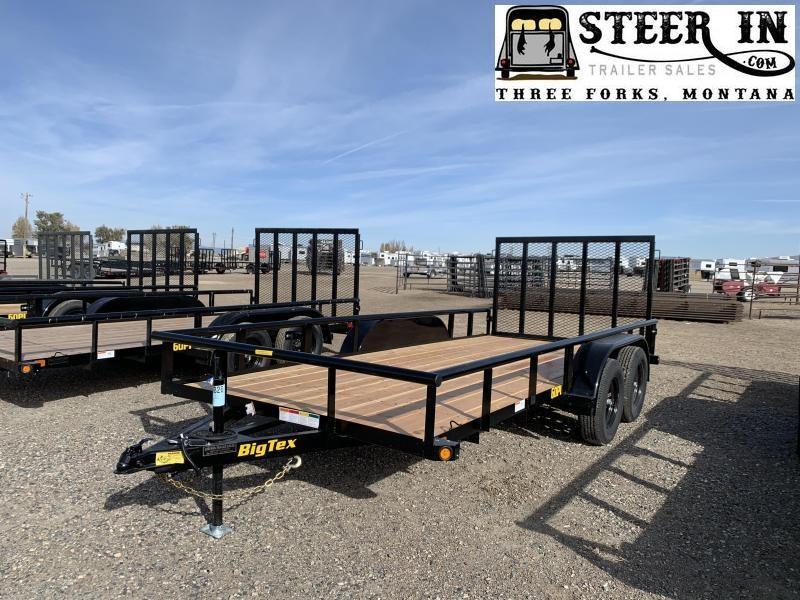 2020 Big Tex 60PI-16' Utility Trailer