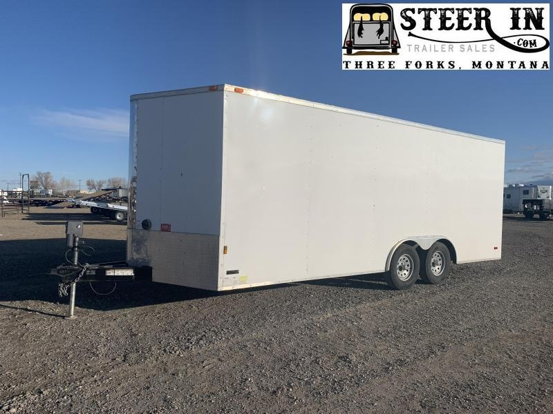 2016 Continental Cargo 8X20'  Enclosed Cargo Trailer
