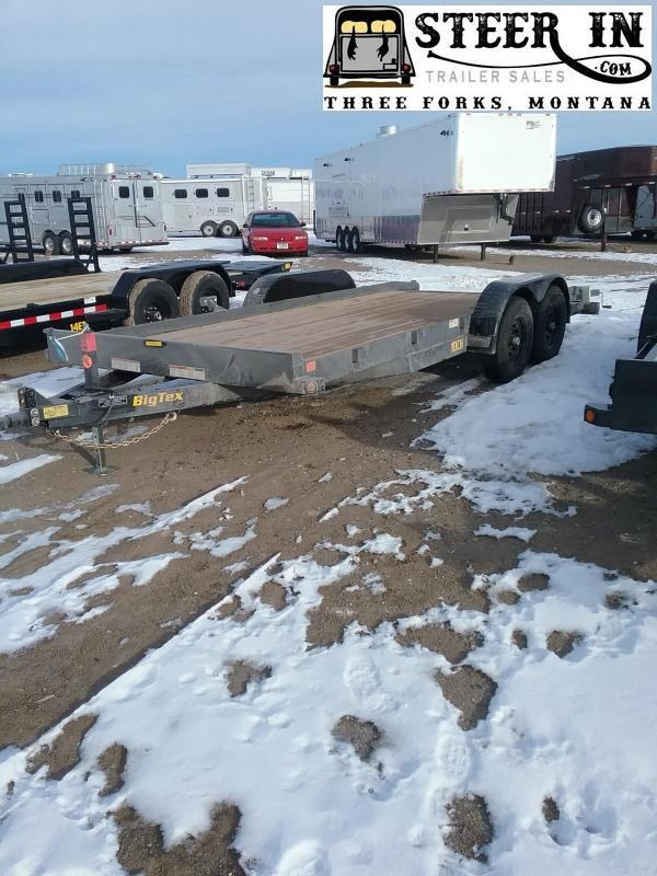 2020 Big Tex 10CH - 18' Equipment Trailer