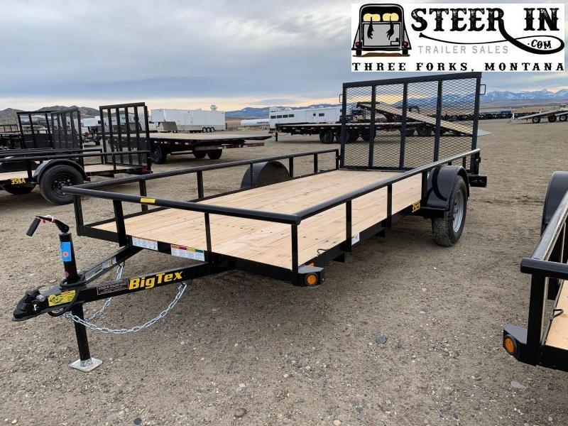 2020 Big Tex 35ES 14' Utility Trailer
