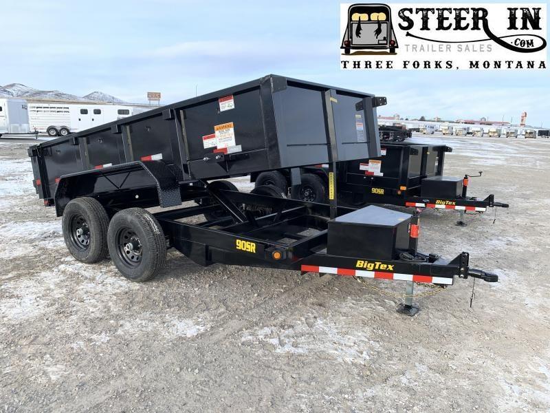 2020 Big Tex 12' 90SR Dump Trailer