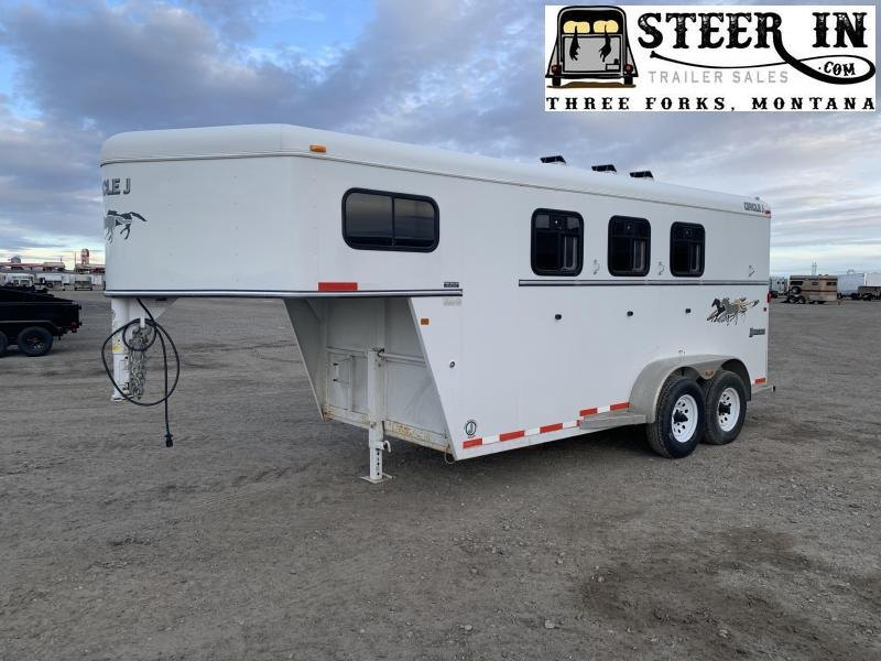 2009 Circle J  Bronco 3H GN Trailer