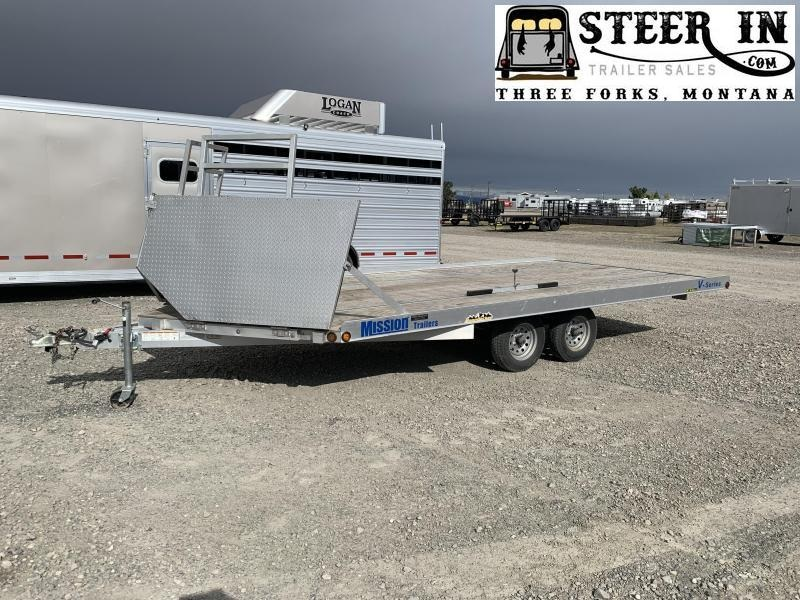 2011 Mission 101X16' Snowmobile Trailer