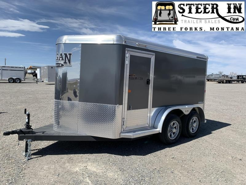 2019 Logan SILVER EAGLE 12' LX  Cargo Trailer