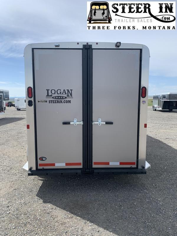 2020 Logan 3H GN Horse Trailer