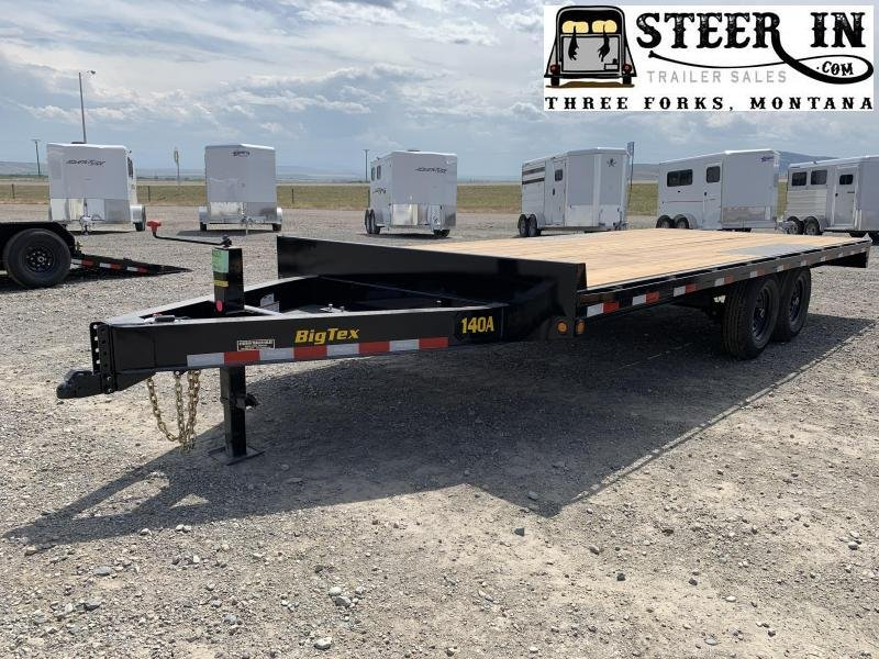 2020 Big Tex 20' 14OA 20' Equipment Trailer