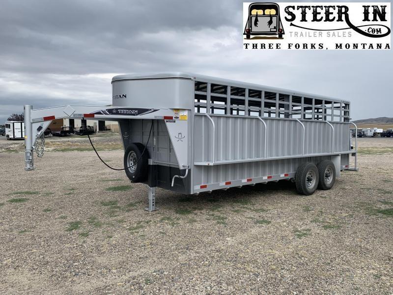 2020 Titan 20' Ranchero/Standard Livestock Trailer