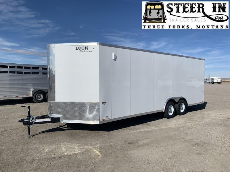 2020 Look 8'5X22' Enclosed Cargo Trailer