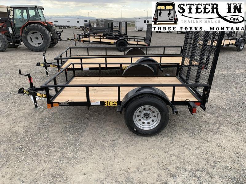 2020 Big Tex 30ES -5x8' Utility Trailer