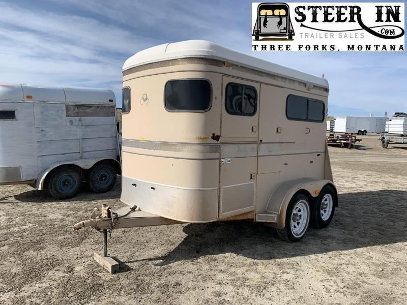 1989 Logan Coach 2H BP Horse Trailer