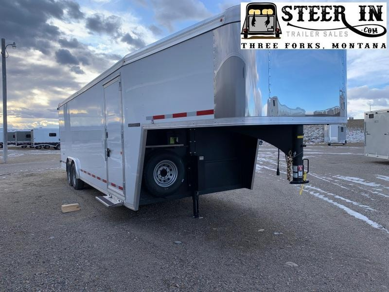 2019 Logan Contractor GN 24' Enclosed Cargo Trailer