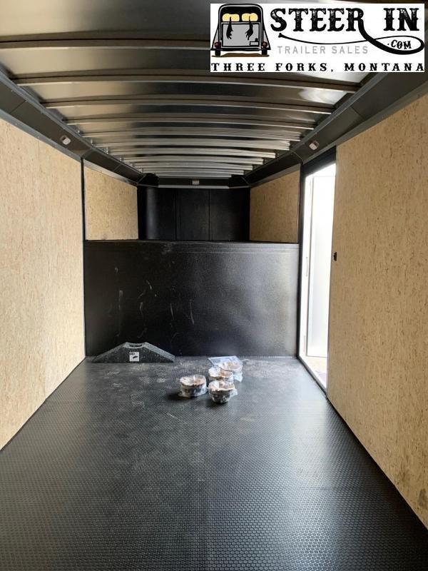 2019 Logan Contractor GN 24' Enclosed Cargo Trailer