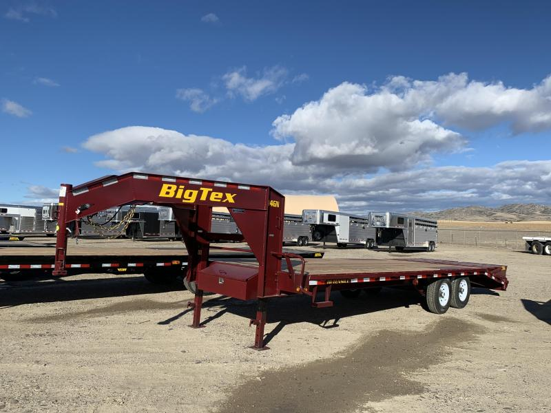 2020 Big Tex 25' (20+5) 14GN Flatbed