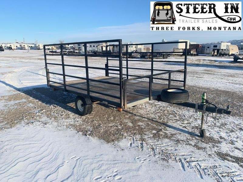 2001 Siems 10'  Utility Trailer