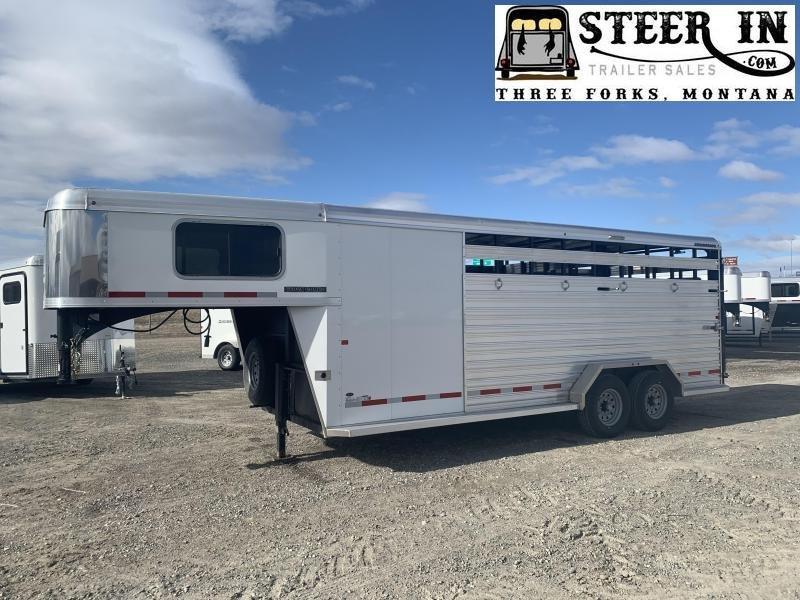 2020 Logan Coach 20' Stock/combo GN Livestock Trailer
