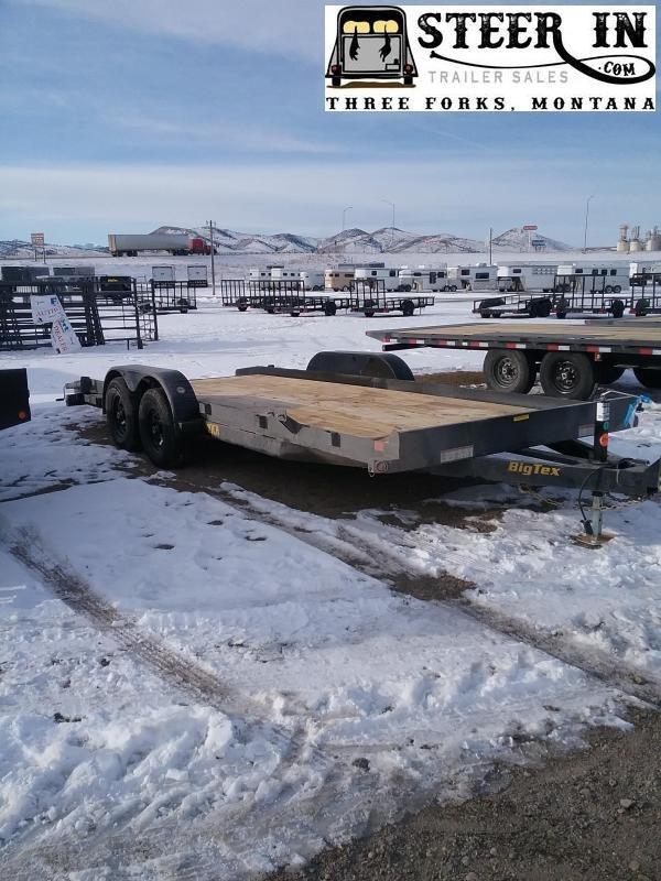 2020 Big Tex 10CH - 20' Equipment Trailer