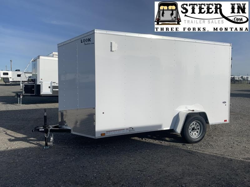 2021 Look Trailers LSCAB6.0X12SI2FF Enclosed Cargo Trailer