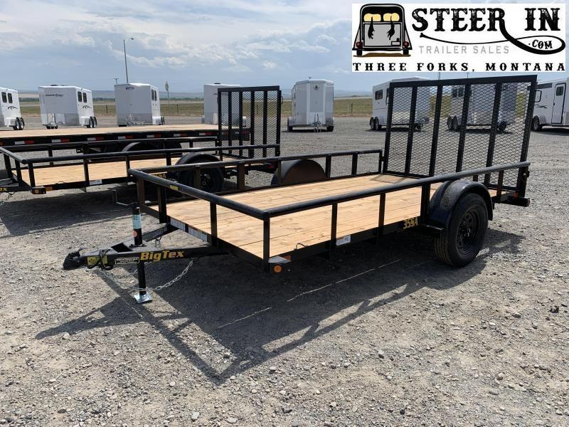 2020 Big Tex 35SA 12' Utility Trailer