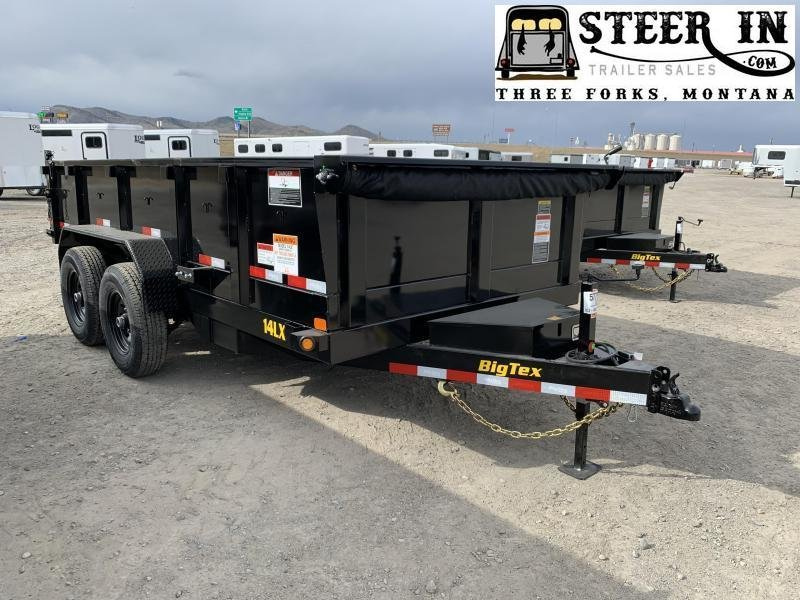 2020 Big Tex 14LX 14' Dump Trailer