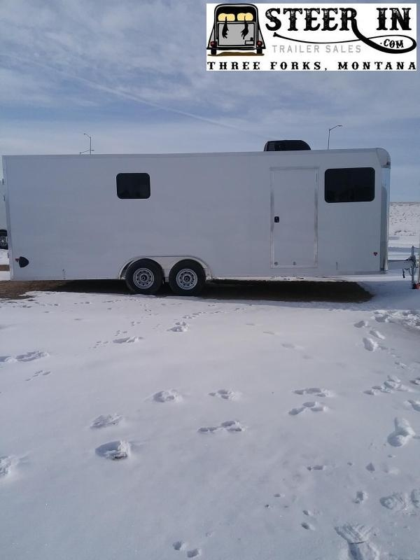 2020 EZ Hauler 8X24' JOB SITE Enclosed Cargo Trailer