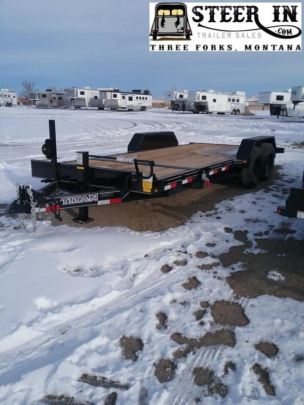 2020 Titan 20' (16+4) TILT Equipment Trailer