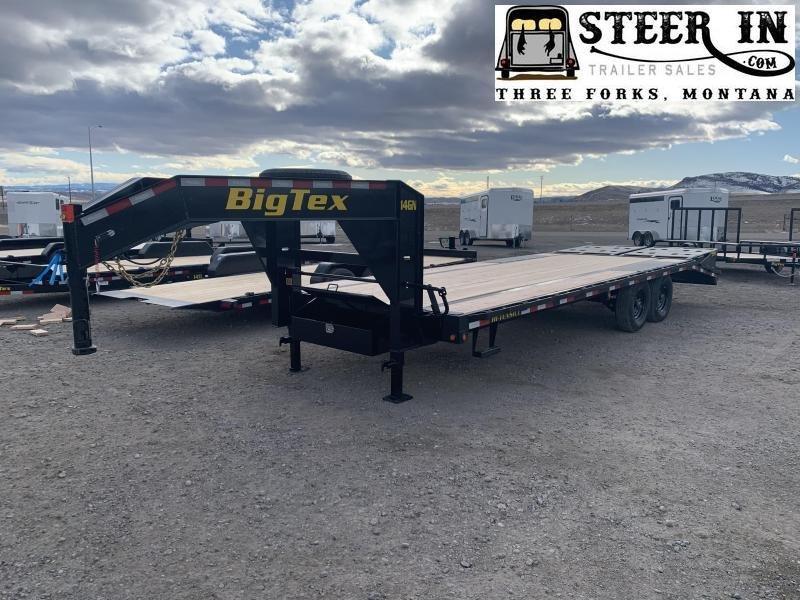 2020 Big Tex 25' (20+5) 14GN Flatbed