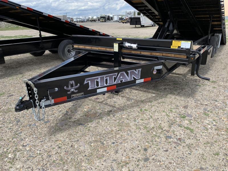 2019 Titan 29' (25+5) Deckover Tilt Trailer