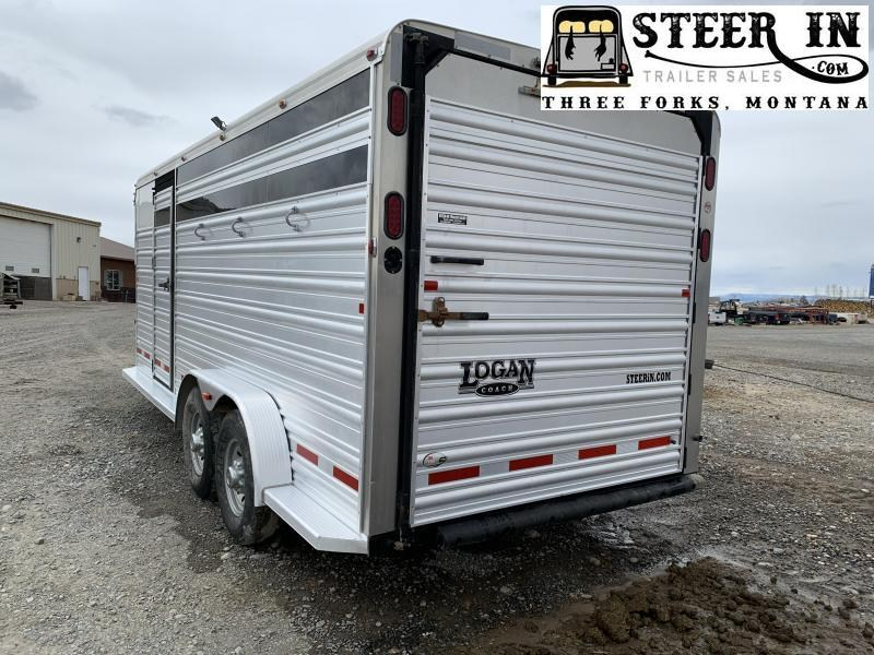 2015 Logan 18' Stock/Combo Trailer