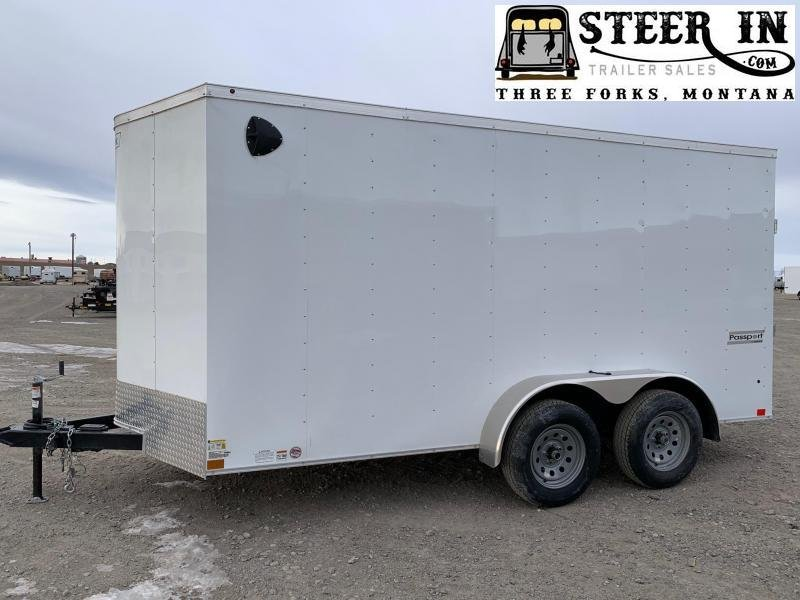 2020 Haulmark 7X14' Enclosed Cargo Trailer