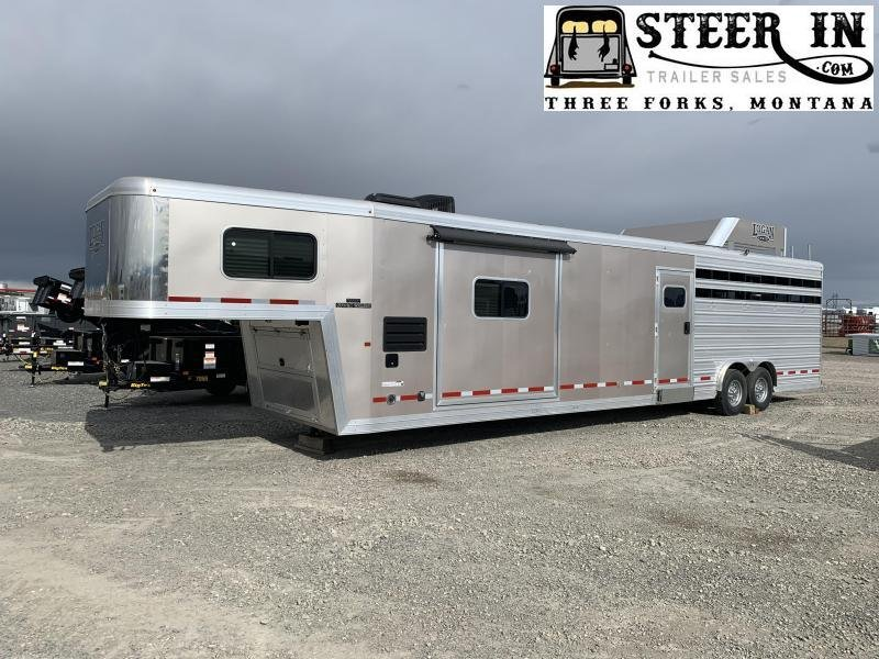 2017 Logan 812 LQ Stock/Combo Trailer