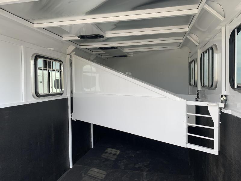 2020 Trails West Adventure MX GN 3 Horse Trailer