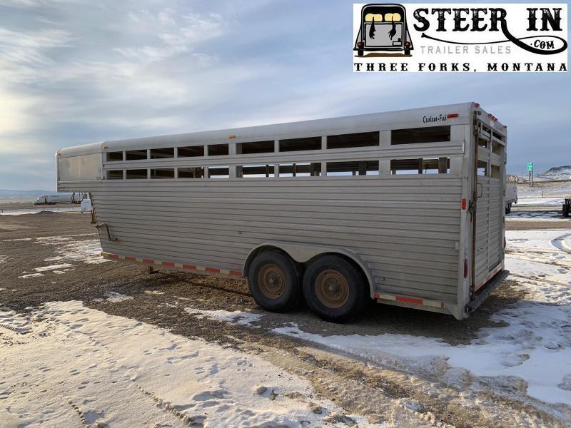 1998 Custom Fab 20' Livestock Trailer