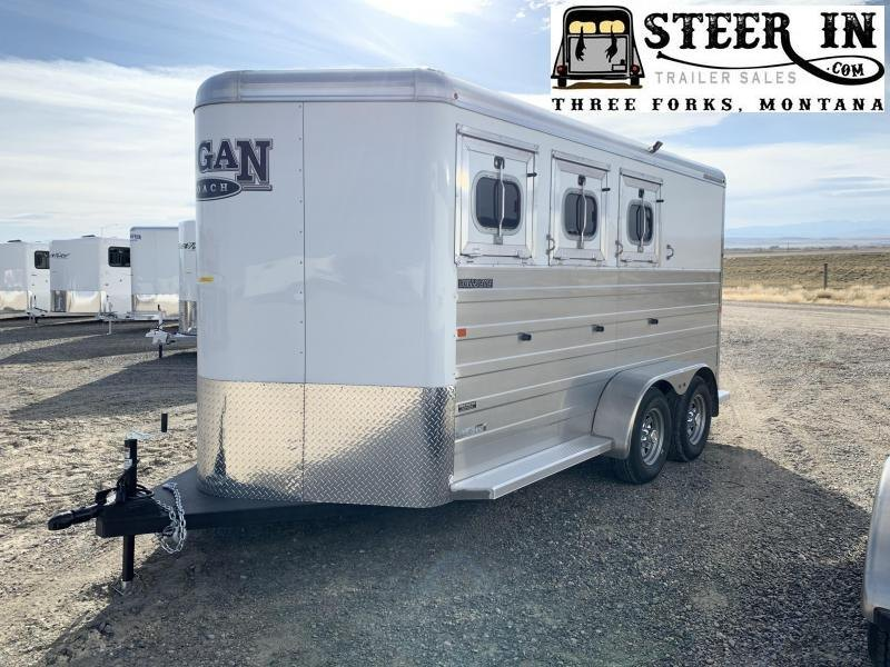 Logan Coach 3Horse Bullseye BP Trailer