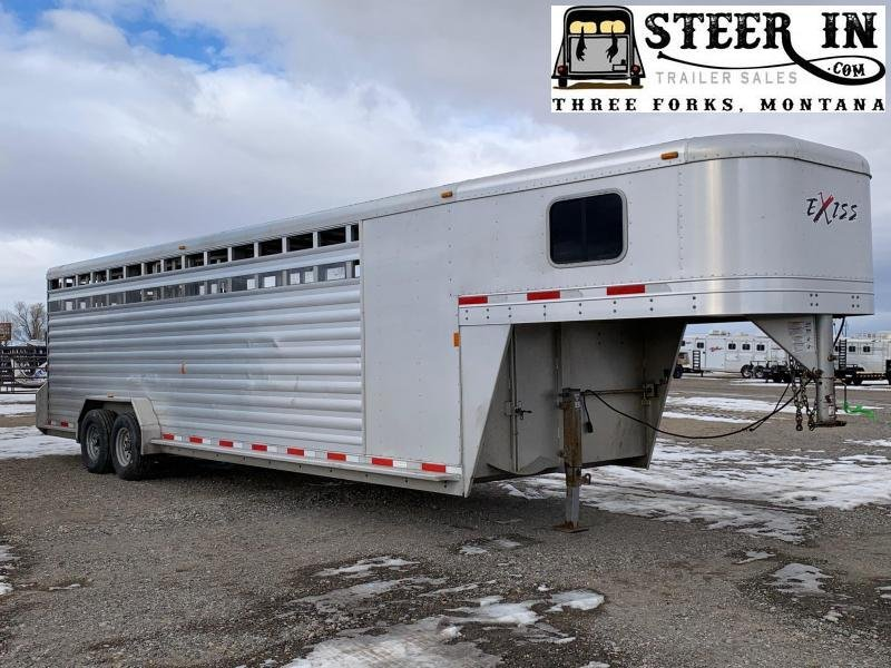 2014 Exiss 24' Stock/Combo Trailer