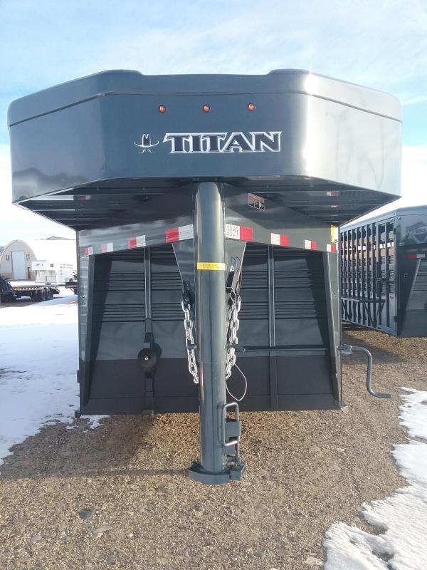 2020 Titan 24' Standard Stock Trailer