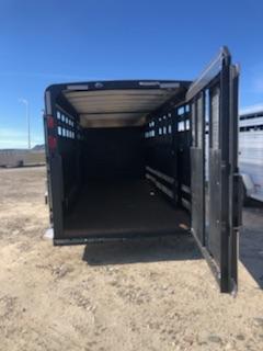 2019 Logan 24' Stock/Combo GN Livestock Trailer