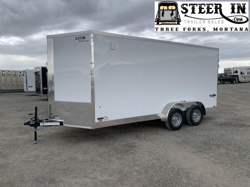 2020 Look 7X16' Enclosed Cargo Trailer